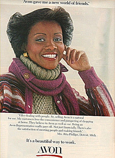 avon products ad 1978 RITA PHILLIPS DETROIT (Image1)