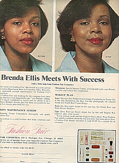 Fashion Fair cosmetics ad 1978 BRENDA ELLIS (Image1)