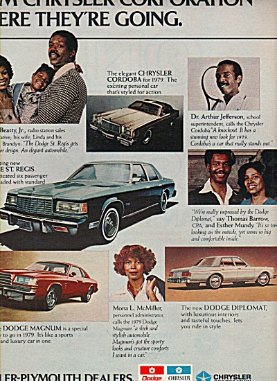 Dodge-Chrysler-Plymouth dealers ad 1978 (Image1)