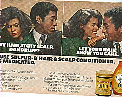Sulfur 8 shampoo and conditioner ad 1978 (Image1)