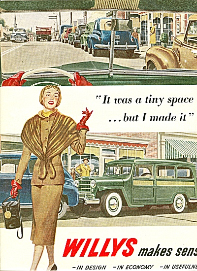WILLYS  automobile ad 1951 (Image1)