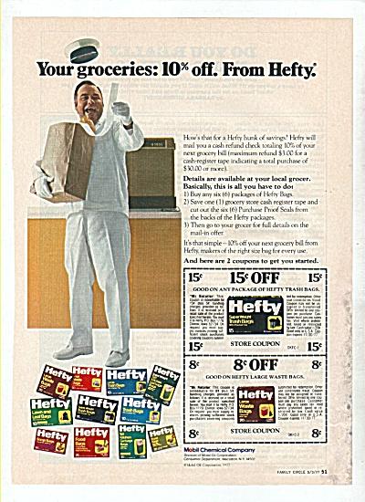 Hefty trash bags - JONATHAN WINTERS  ad1977 (Image1)