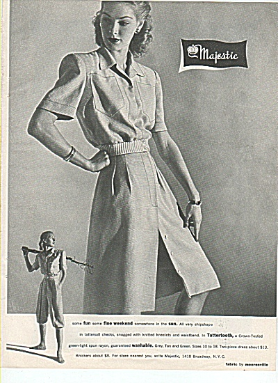 Majestic fabric by mooresville ad 1945 (Image1)
