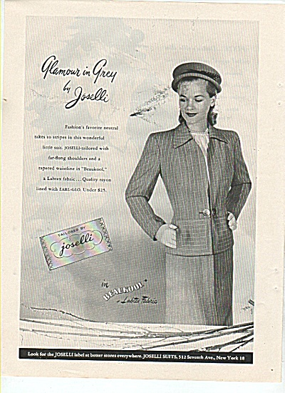 Tailored By Joselli Ad 1945