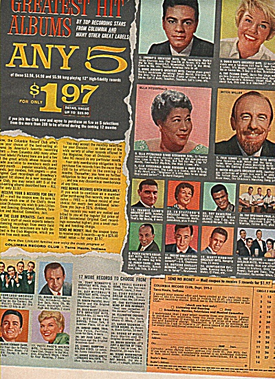 Colombia records (Mitch Miller-Doris Day ad1961 (Image1)
