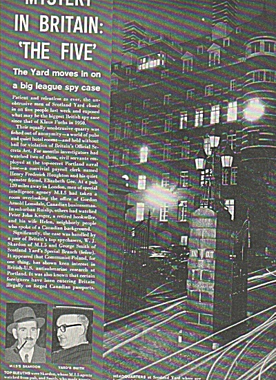 Mystery in Britain: The five story - 1961 (Image1)