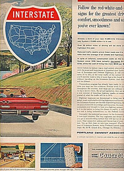 Portdland Cement association ad 1961 (Image1)