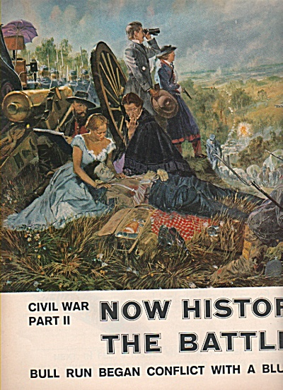 The Battle Of Bull Run - Civil War Story 1961