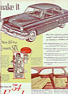 Ford automobile for 1954 ad (Image1)