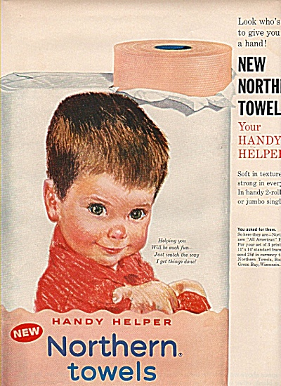 Northern towels ad  - 1961 (Image1)