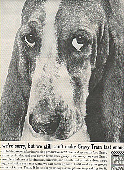 Gravy Train ad 1961 (Image1)