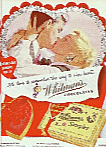 Whitman's sampler ad 1954 (Image1)