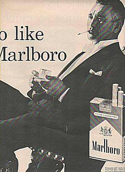 Marlboro cigarettes ad 1961 FILTERS 2 PAGE (Image1)