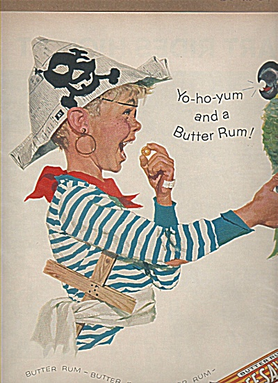 Life Savers pep o mint ad 1959 BOY PIRATE (Image1)