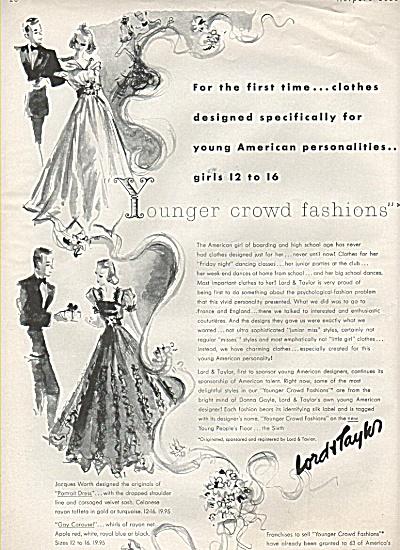 Lord & Taylor ad - 1937 (Image1)