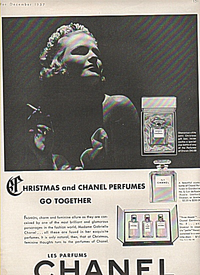Les Parfums Chanel Ad 1937