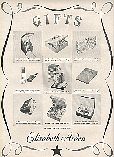 Elizabeth Arden gifts ad 1937 (Image1)