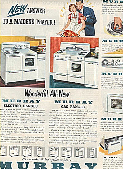 Murray Appliances Ad 1950