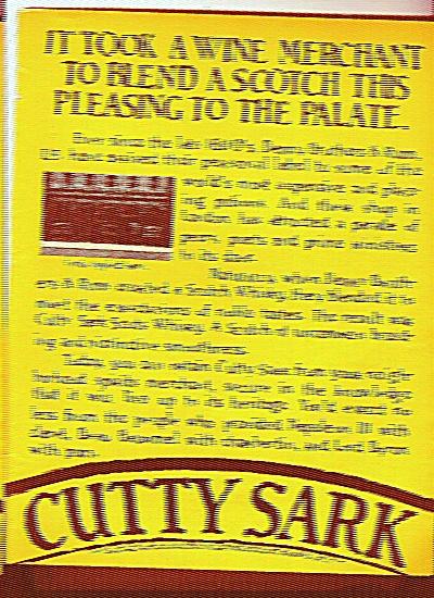 Cutty Sark Scotch ad 1977 (Image1)