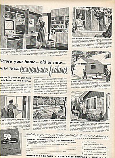 Homasote company ad 1950 (Image1)