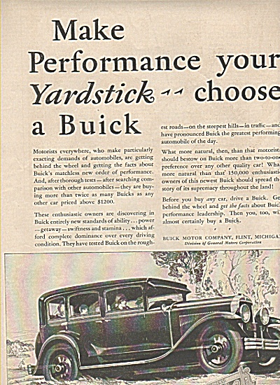 Buick automobile ad 1929 (Image1)
