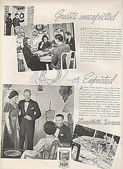 Campbell's soups ad 1937 (Image1)