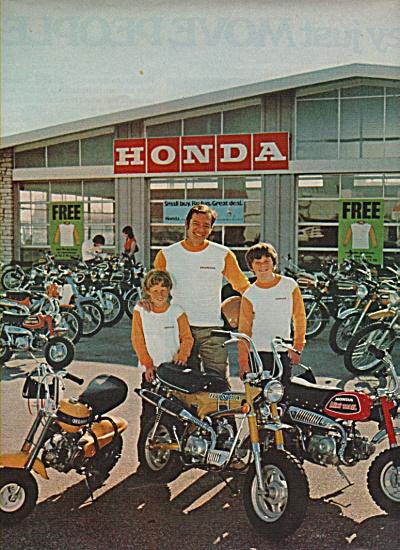 Honda motorcycles ad 1972 (Image1)