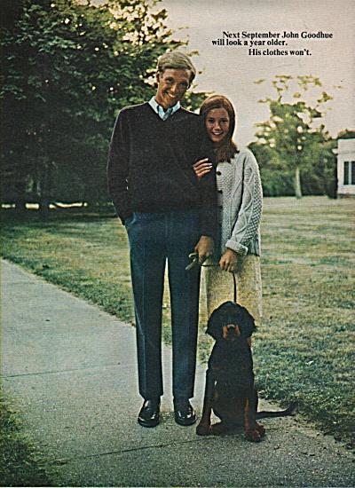 Haggar slacks for young men ad 1966 (Image1)