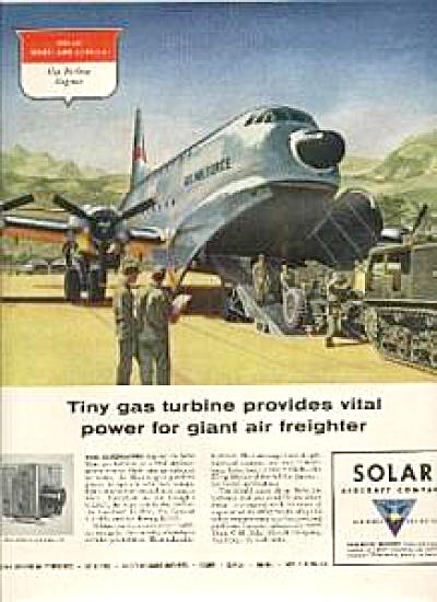 1956 U. S. Air Force Transport Plane C-124 AD (Image1)