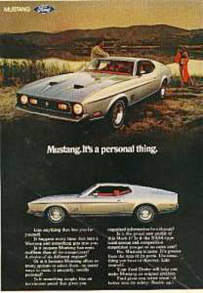 1971 Ford Mustang Mach 1 AD (Image1)