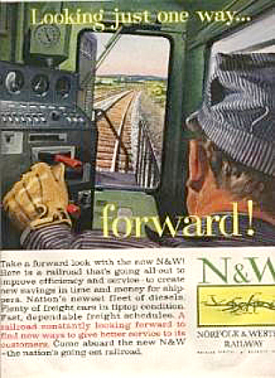 1960 Norfolk & Western Railway Conductor AD (Image1)