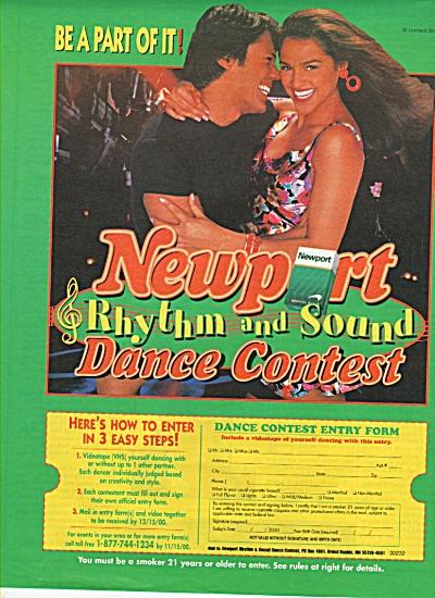 Newport cigarettes contest ad 2000 (Image1)