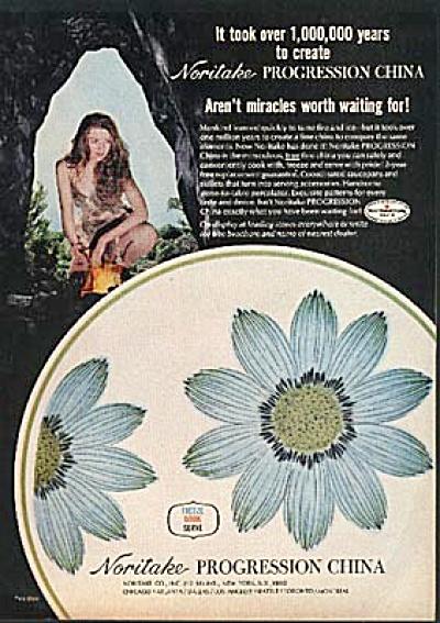1970 Noritake Progression Upsa Daisy AD (Image1)