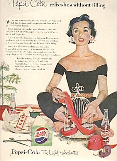 1954 Pepsi Cola Modern Woman AD (Image1)