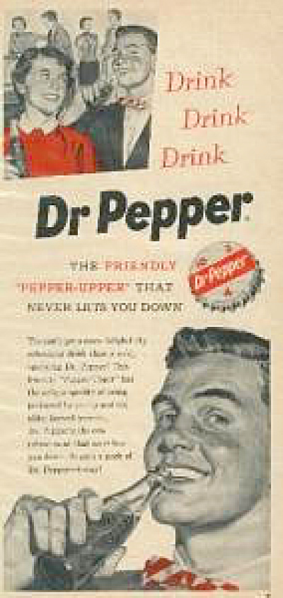 1955 Dr. Pepper Pepper Upper AD (Image1)