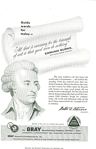 The Gray Manufacturing company ad 1956 (Image1)