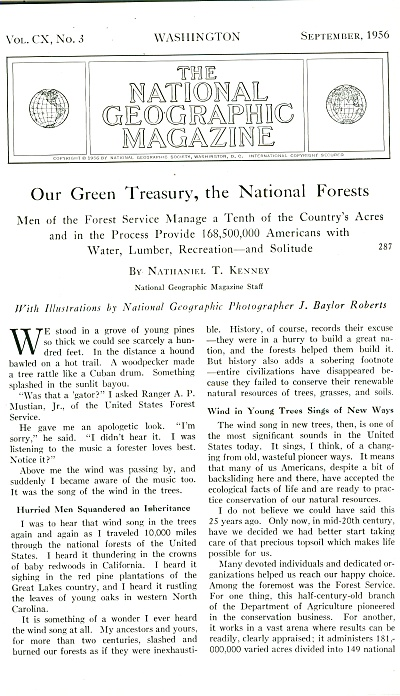 Our green Treasury, THE NATIONAL FORESTS (Image1)