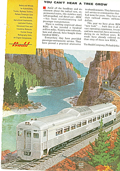 Budd Manufacturing Co. Ad 1956