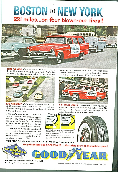 Goodyear tires ad 1957 (Image1)