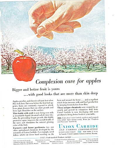 Union Carbide and carbon corporation ad 1957 (Image1)