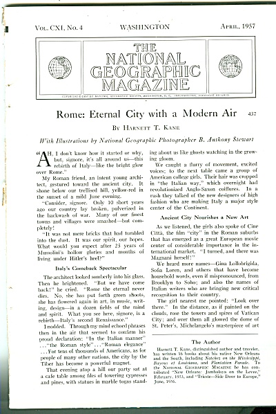 ROME, Eternal city with a modern air - 1957 (Image1)