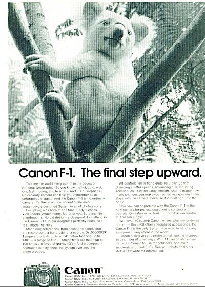 Canon camera -  1974 (Image1)