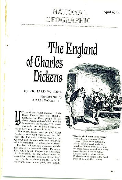 THE ENGLAND OF CHARLES DICKENS  - 1974 (Image1)