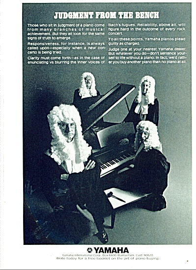 Yamaha piano ad 1974 (Image1)