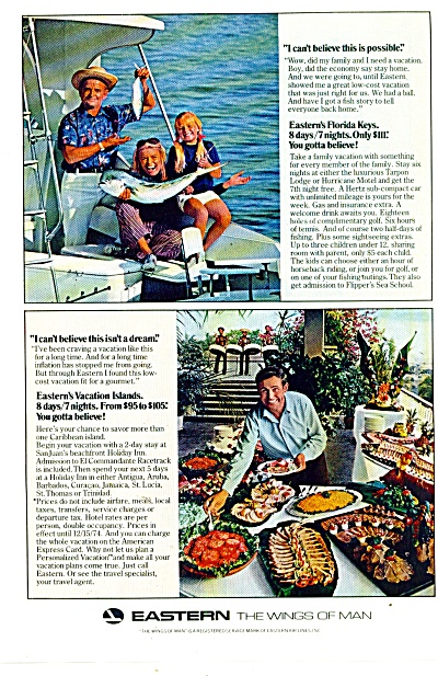 Eastern airlines ad - 1974 (Image1)
