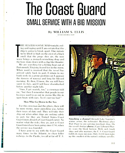 STORY;  THE COAST GUARD   1974 (Image1)