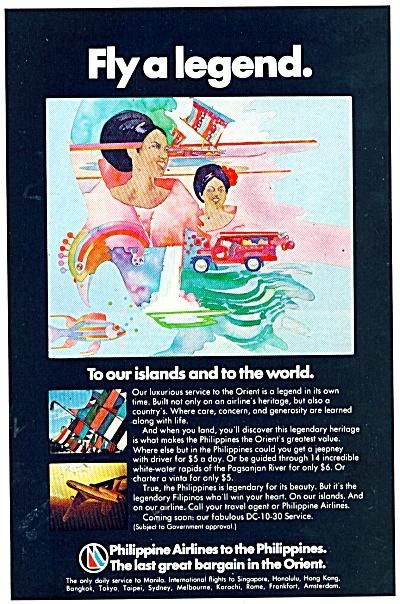 Philippine Air Lines - 1974 (Image1)