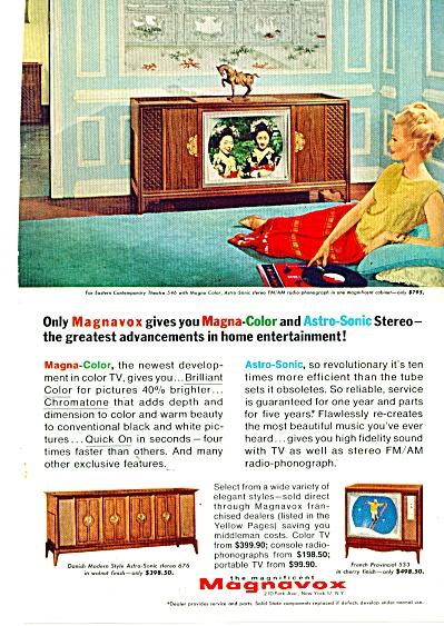 Maganavox television ad 1965 (Image1)