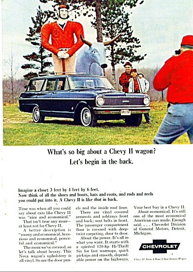 Chevrolet Chevy II wagon ad 1965 (Image1)