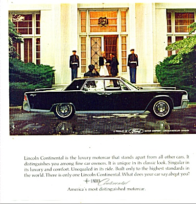 Lincoln Continental auto  - 1965 (Image1)